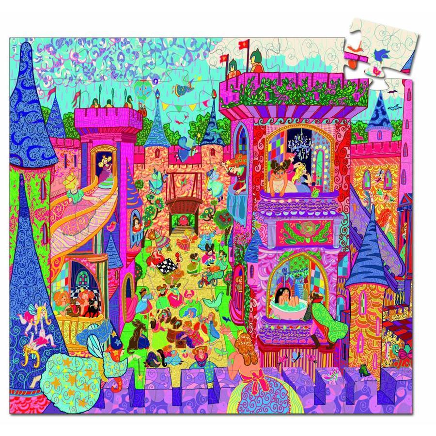 Château de conte de fées - Puzzle de 54 pièces-2