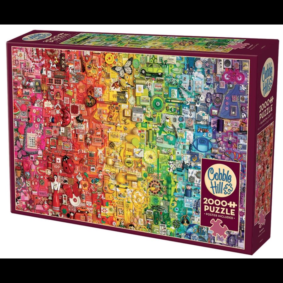 Arc-en-ciel - puzzle de 2000 pièces-2
