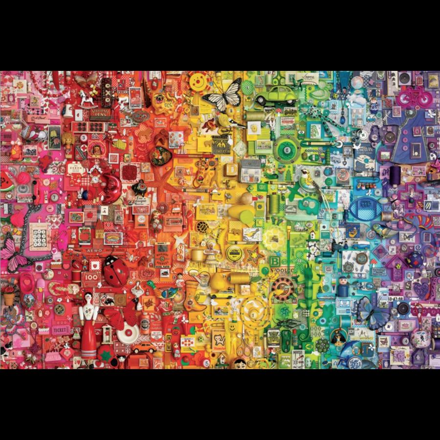 Arc-en-ciel - puzzle de 2000 pièces-1