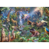 Cobble Hill In de jungle  - puzzel van 1000 stukjes