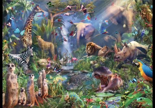 Cobble Hill Dans la jungle  - 1000 pièces