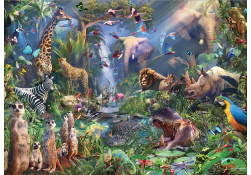 In de jungle - 1000 stukjes