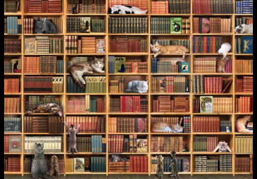 Cobble Hill La bibliothèque des chats - 1000 pièces