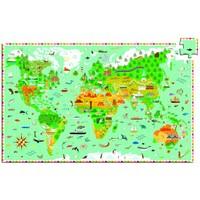 thumb-Meer dan een wereldkaart - puzzel van 200 stukjes-3
