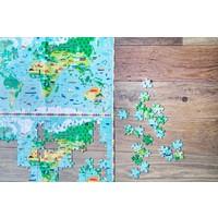 thumb-Plus d'une carte du monde - casse-tête de 200 pièces-1