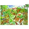 Djeco Dinosaurussen - puzzel van 100 stukjes