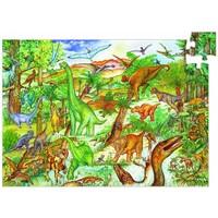 thumb-Dinosaurussen - puzzel van 100 stukjes-1