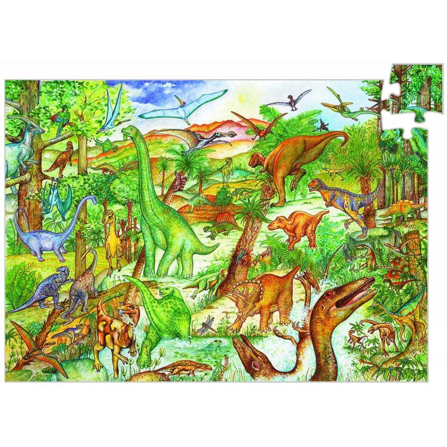 Dinosaurussen - puzzel van 100 stukjes-1