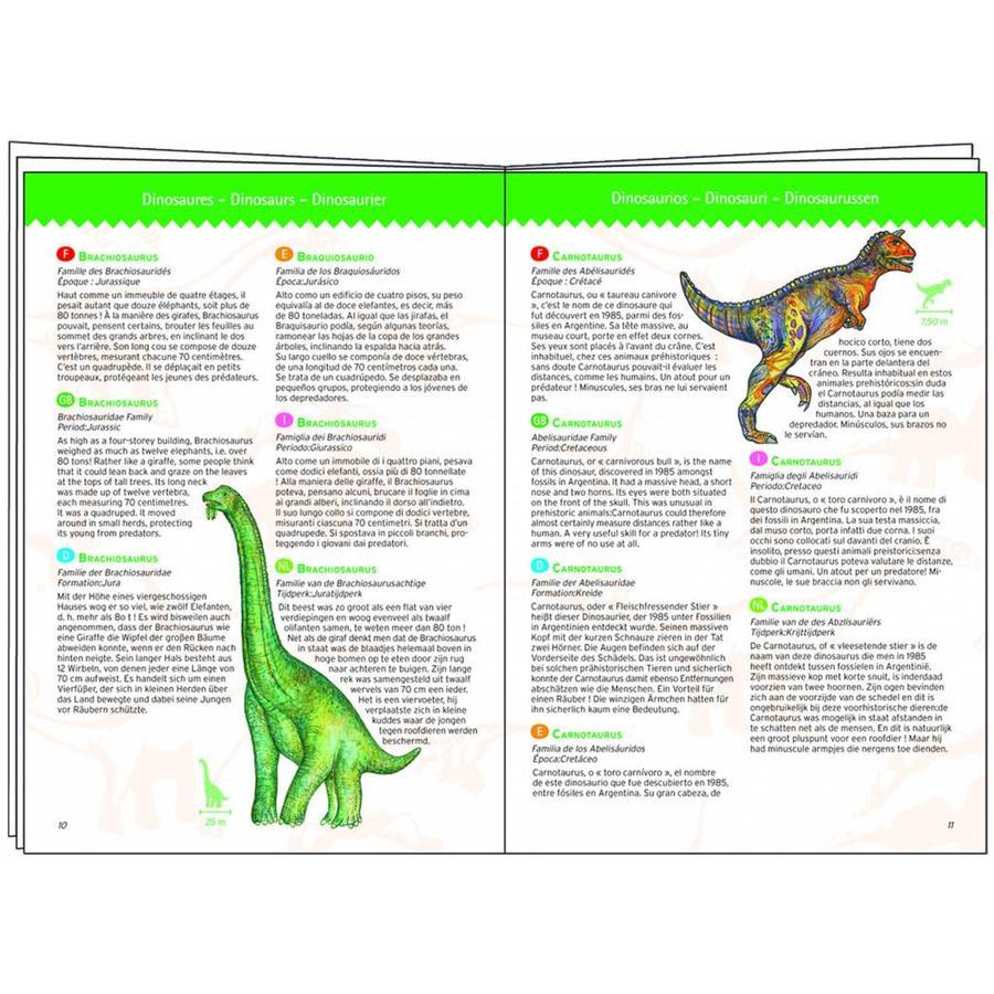 Dinosaurussen - puzzel van 100 stukjes-4
