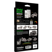thumb-Willy's MB Jeep - Iconx 3D puzzel-4