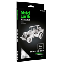 thumb-Willy's MB Jeep - Iconx 3D puzzel-2