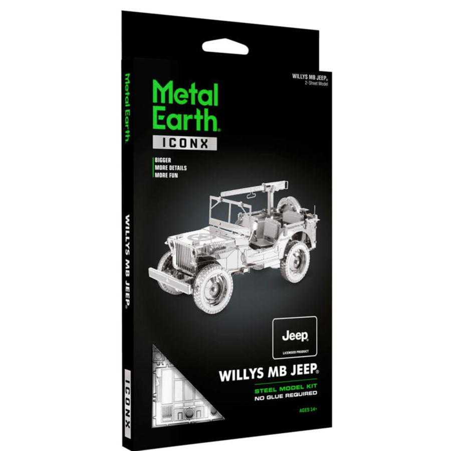 Willy's MB Jeep - Iconx 3D puzzel-2