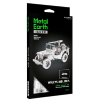 thumb-Willy's MB Jeep - Iconx 3D puzzel-3