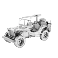 thumb-Willy's MB Jeep - Iconx 3D puzzel-1