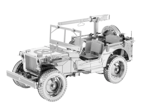 Willy's MB Jeep - Iconx 3D puzzel