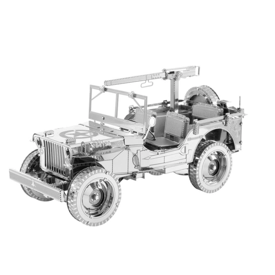 Willy's MB Jeep - Iconx 3D puzzel-1