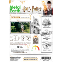thumb-Harry Potter - The Burrow - 3D puzzel-4