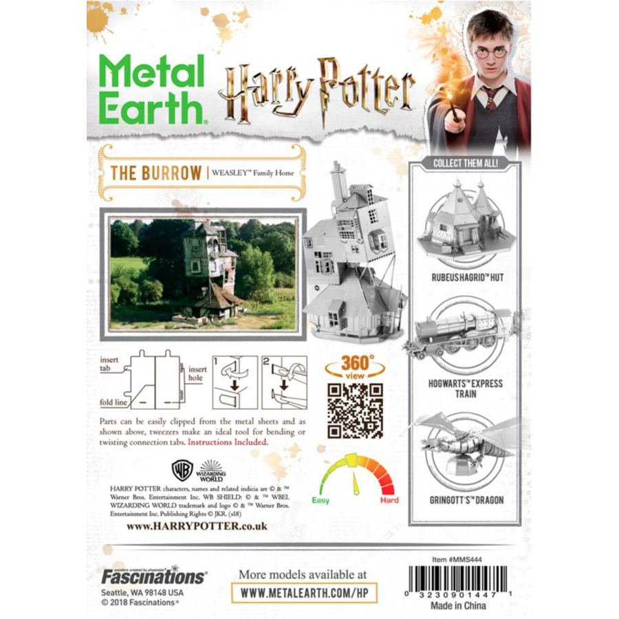 Harry Potter - The Burrow - puzzle 3D-4