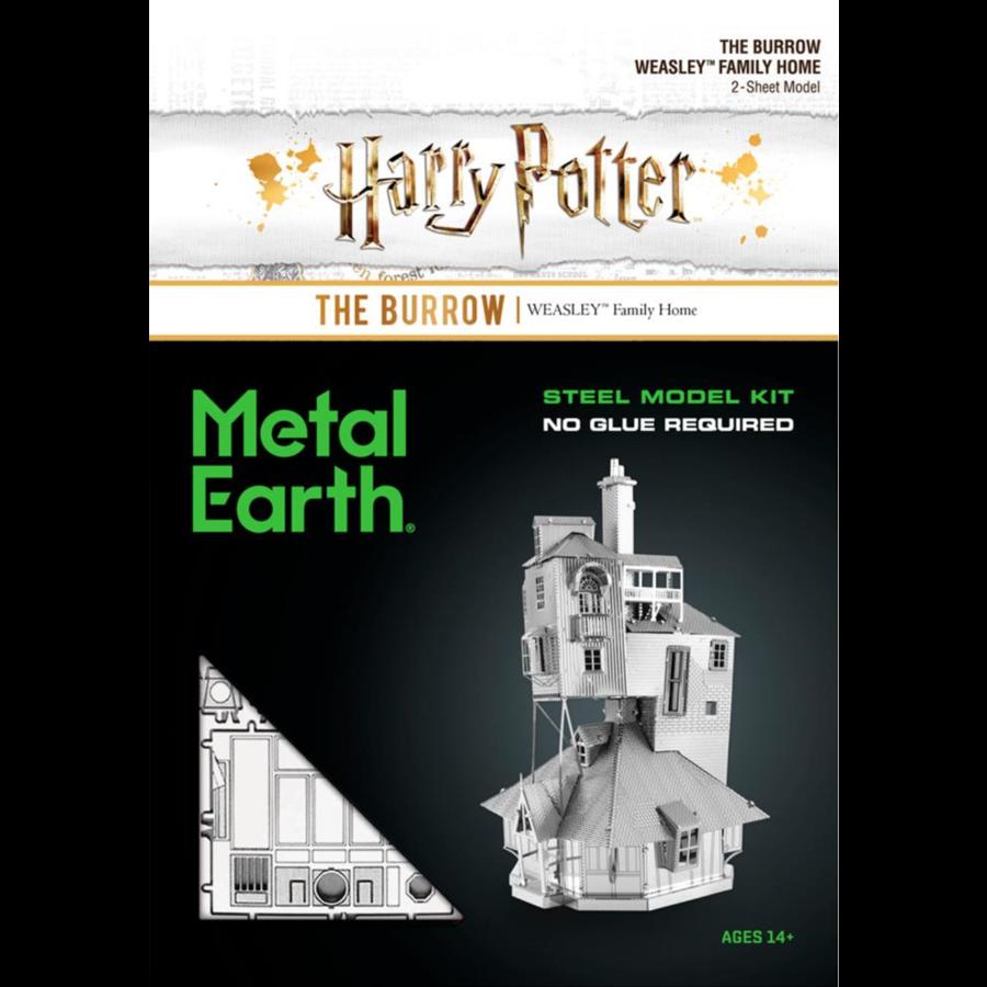 Harry Potter - The Burrow - puzzle 3D-3