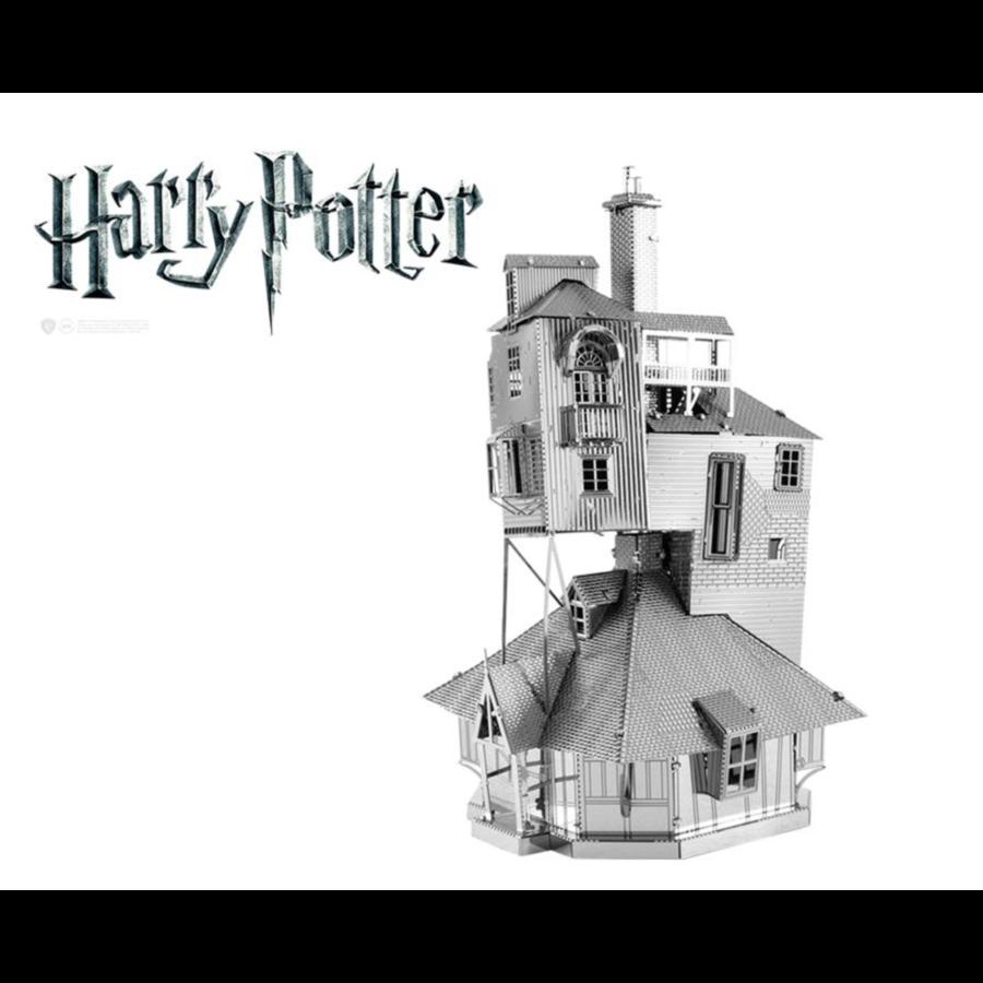 Harry Potter - The Burrow - puzzle 3D-1