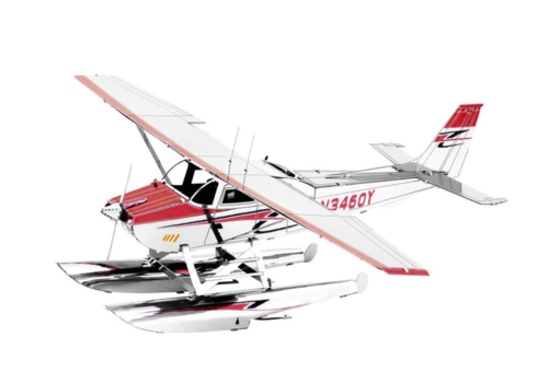 Metal Earth Cessna 182 Floatplane - 3D puzzle