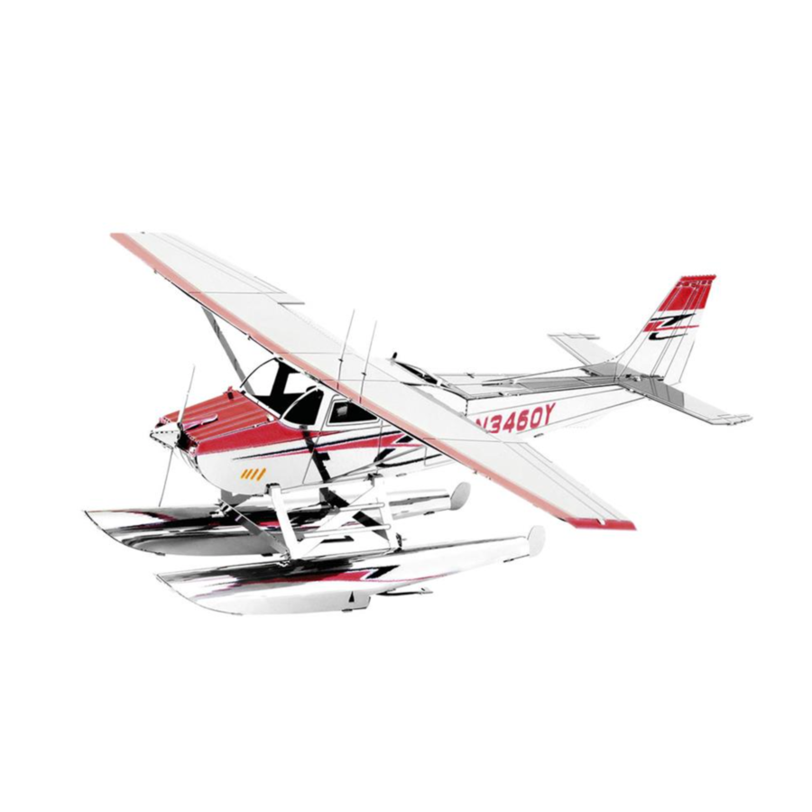 Cessna 182 Floatplane - 3D puzzel-1