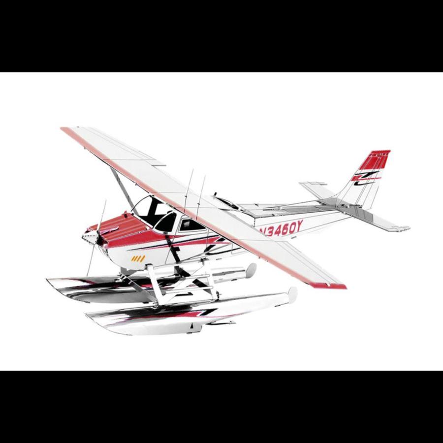 Cessna 182 Floatplane - 3D puzzle-1