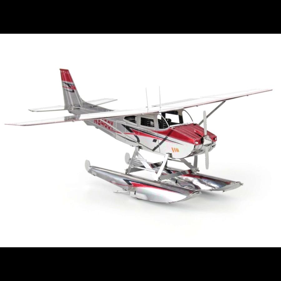 Cessna 182 Floatplane - 3D puzzel-3