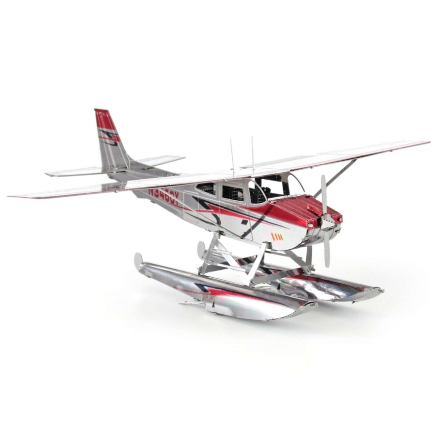 Cessna 182 Floatplane - 3D puzzle-3