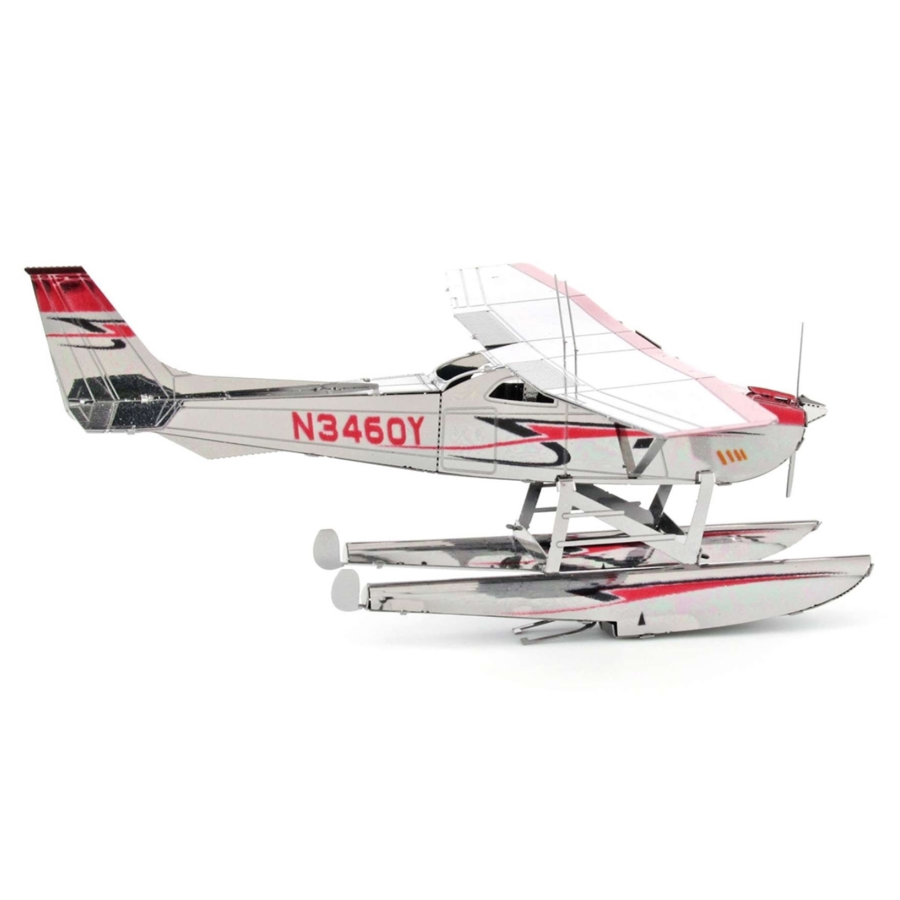 Cessna 182 Floatplane - 3D puzzel-4
