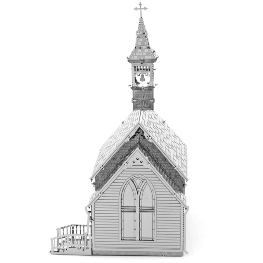 Old Country Church  - 3D puzzel-3