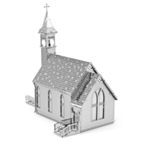 thumb-Old Country Church  - 3D puzzle-4