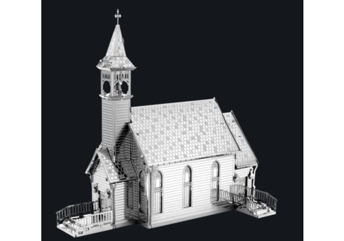 Old Country Church  - puzzle 3D