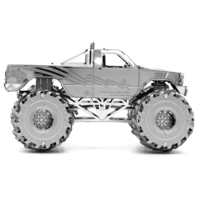 thumb-Monster Truck  - 3D puzzle-3