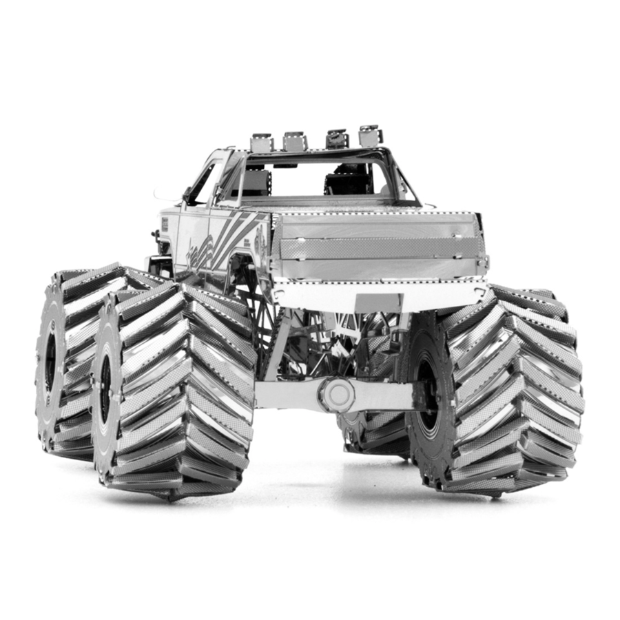 Monster Truck  - 3D puzzel-4