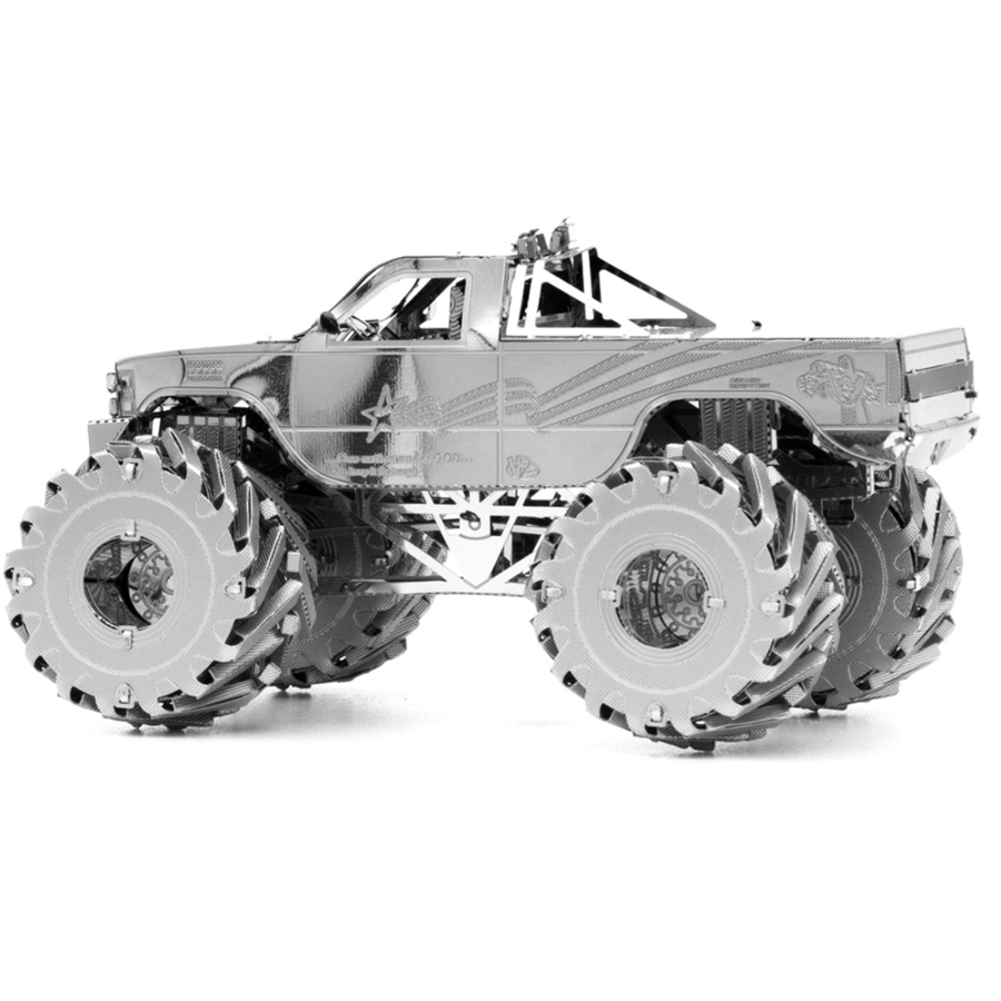 Monster Truck  - 3D puzzel-2