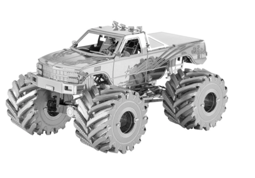 Metal Earth Monster Truck - puzzle 3D