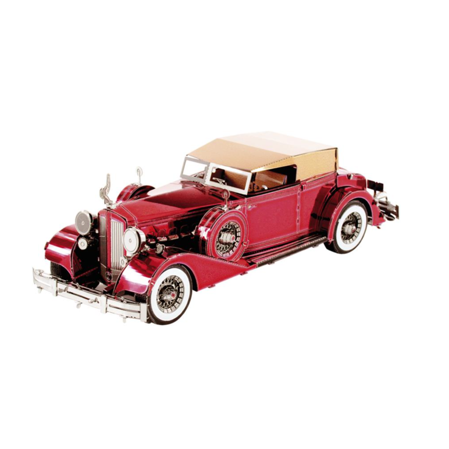 1934 Packard Twelve Convertible  - 3D puzzel-1