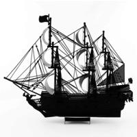 thumb-Black Pearl (black version) - Iconx 3D puzzel-5