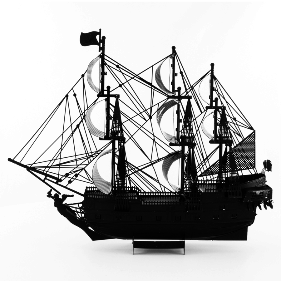 Black Pearl (black version) - Iconx 3D puzzel-5