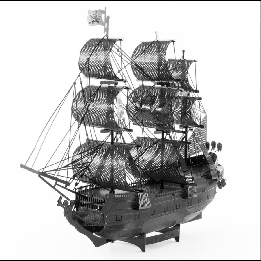 Black Pearl (black version) - Iconx 3D puzzel-1