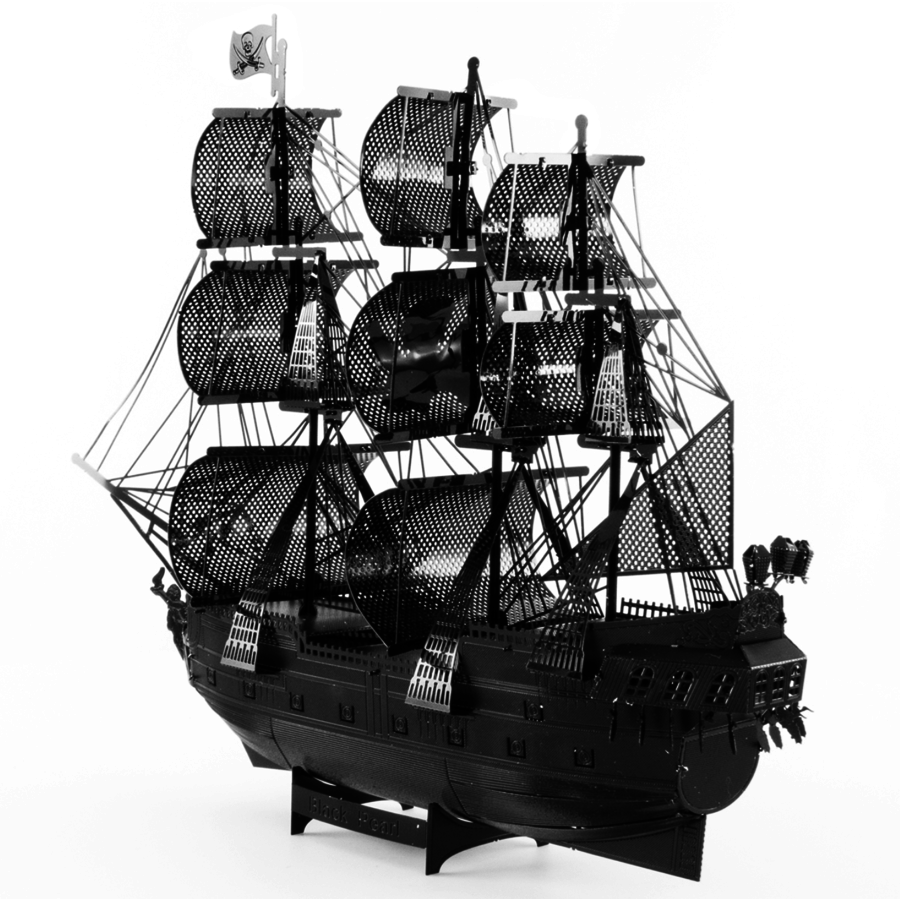 Black Pearl (black version) - Iconx 3D puzzel-3