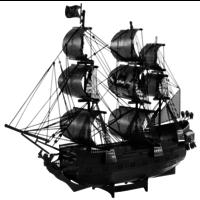 thumb-Black Pearl (black version) - Iconx 3D puzzel-2