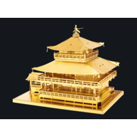 thumb-Gold Kinkaku-Ji  - 3D puzzel-1
