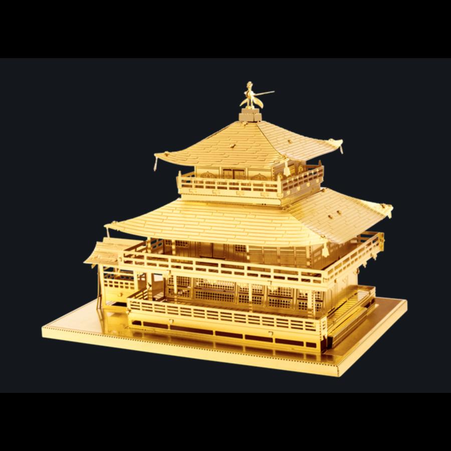 Gold Kinkaku-Ji -  3D puzzle-1