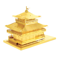 thumb-Gold Kinkaku-Ji  - 3D puzzel-2