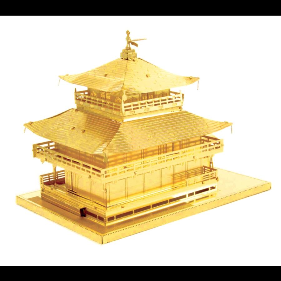 Gold Kinkaku-Ji -  3D puzzle-2