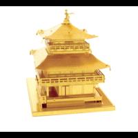 thumb-Gold Kinkaku-Ji -  3D puzzle-3