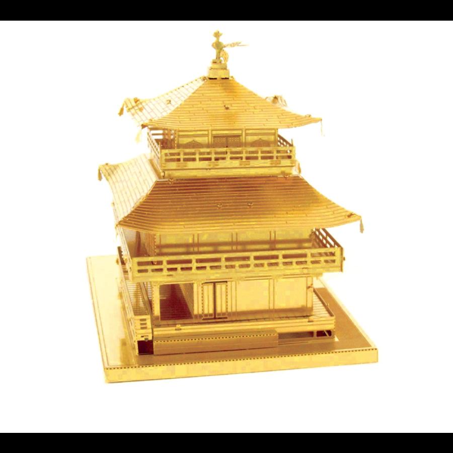 Gold Kinkaku-Ji -  3D puzzle-3