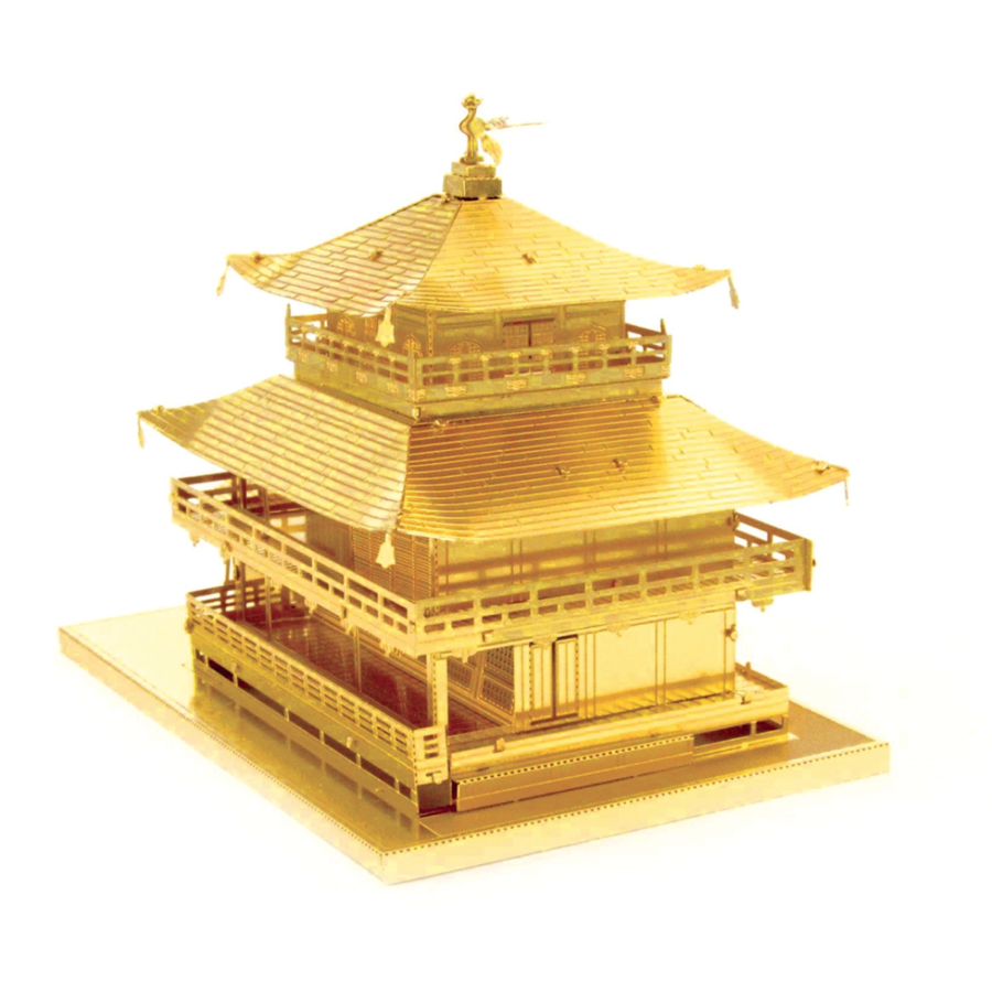 Gold Kinkaku-Ji -  3D puzzle-4